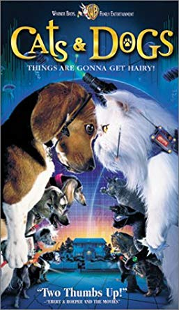 Cats & Dogs (2001 VHS)