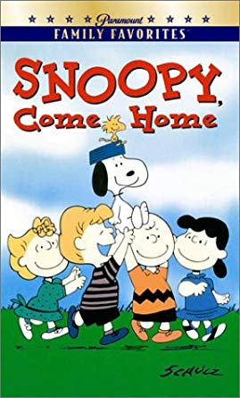 Snoopy Come Home (2001 VHS)