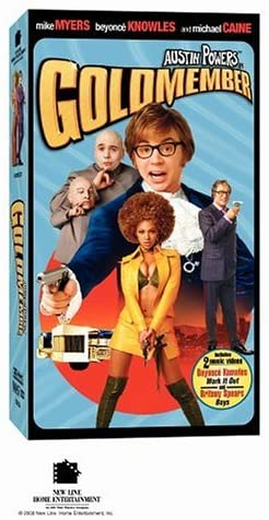 Austin Powers in Goldmember (2002 VHS)