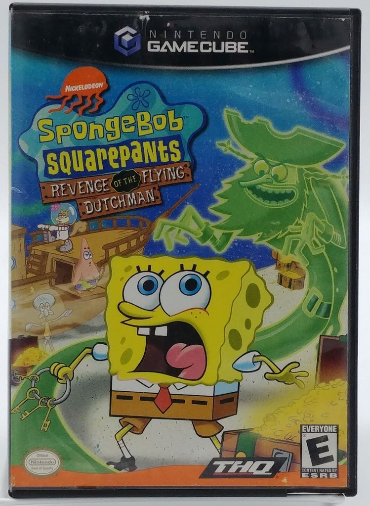 SpongeBob SquarePants: Revenge of the Flying Dutchman (2002 Video Game)