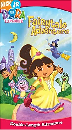 Dora the Explorer: Dora's Fairytale Adventure (2004 VHS)