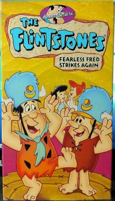 The Flintstones: Fearless Fred Strikes Again (1994-2000 VHS)