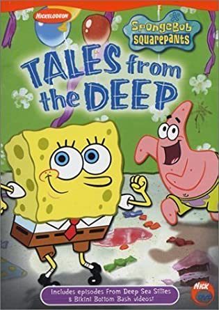 SpongeBob SquarePants: Tales from the Deep (2003 DVD)