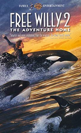 Free Willy 2: The Adventure Home (1995-2003 VHS)
