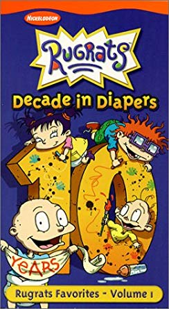 Rugrats: Decade in Diapers Volume 1 (2001 VHS)