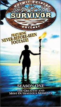 Survivor Season One: The Greatest and Most Outrageous Moments (2001 VHS)