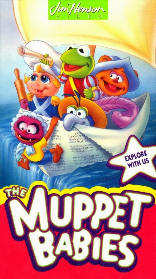 Muppet Babies: Explore with Us (1993 VHS)