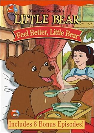 Little Bear: Feel Better Little Bear (2003 DVD)