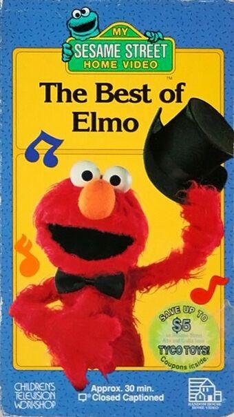 Sesame Street: The Best of Elmo (1994-1996 VHS)