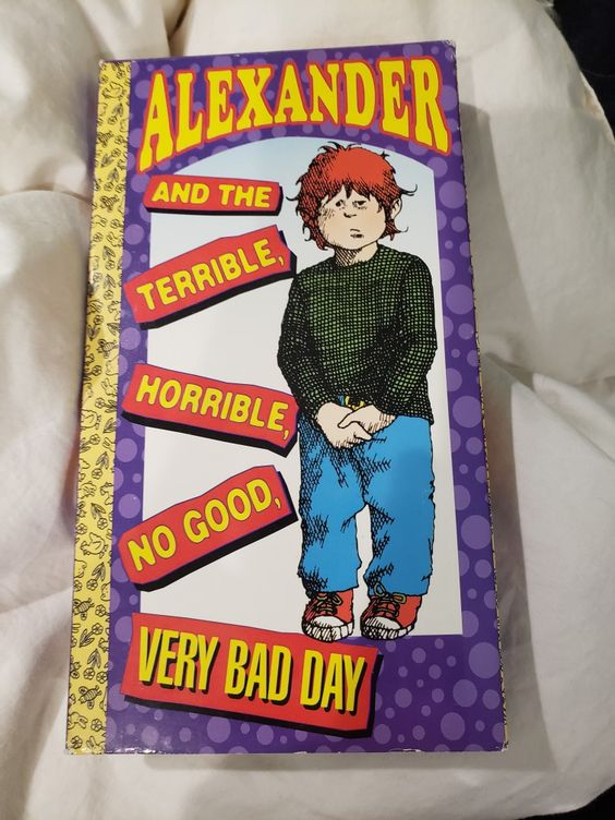 Alexander and the Terrible, Horrible, No Good, Very Bad Day (Golden Books Family Entertainment)