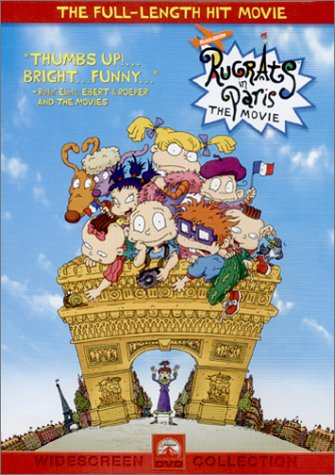 Rugrats in Paris: The Movie (2001 DVD)