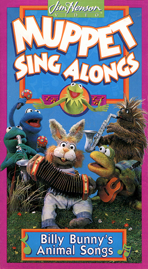 Muppet Sing Alongs: Billy Bunny's Animal Songs (1993 VHS)