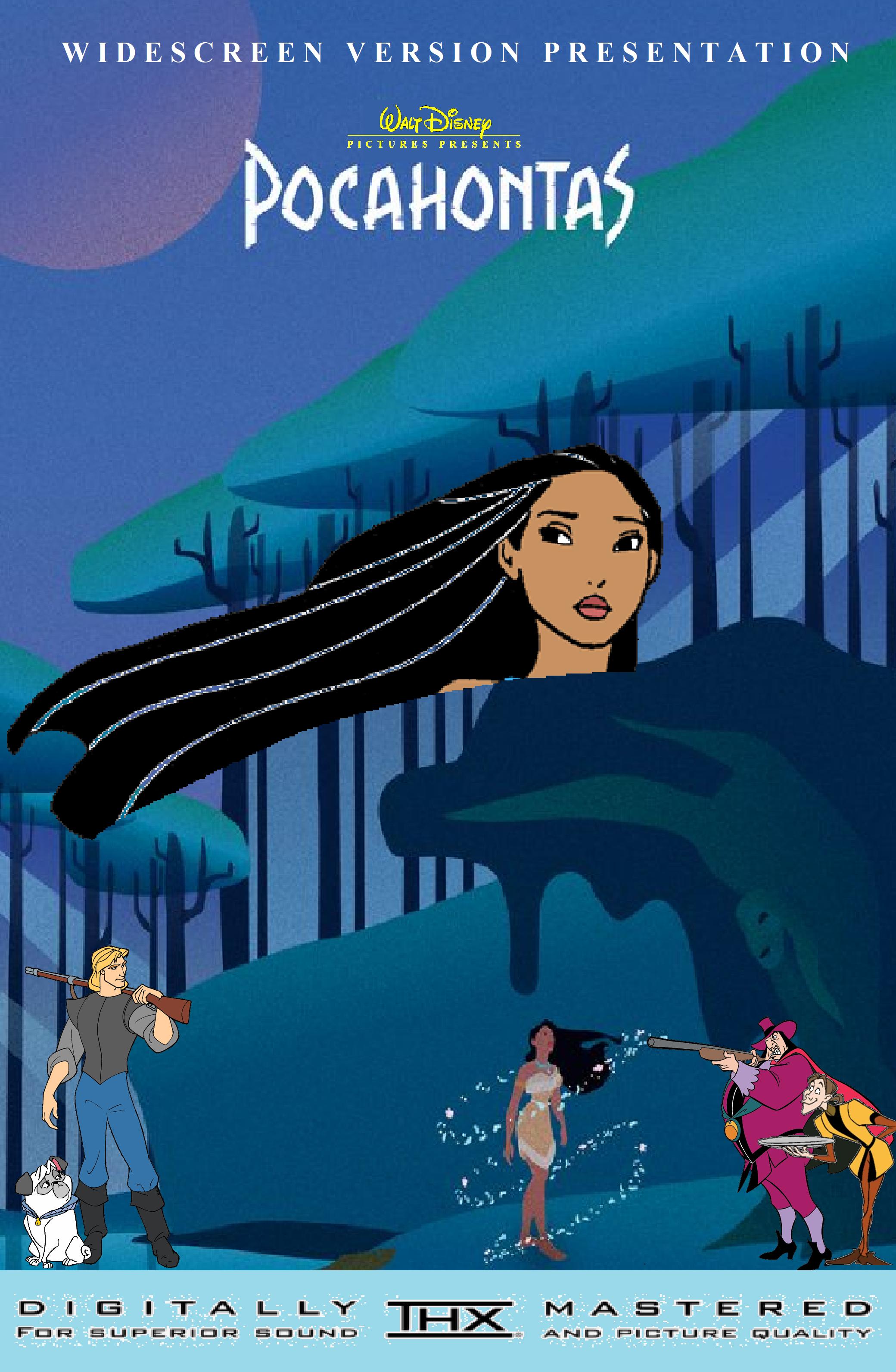 Pocahontas (2002 Widescreen VHS/DVD)