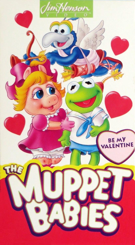 Muppet Babies: Be My Valentine (1994 VHS)