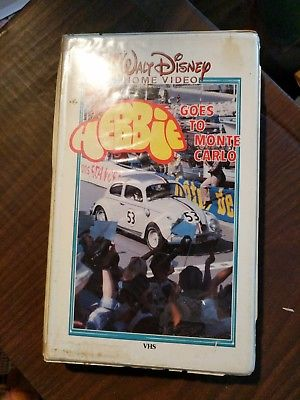 Herbie Goes to Monte Carlo (VHS)