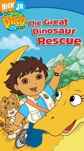 Go, Diego, Go!: The Great Dinosaur Rescue (2006 VHS)
