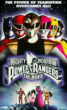 Mighty Morphin Power Rangers: The Movie (1995 VHS)