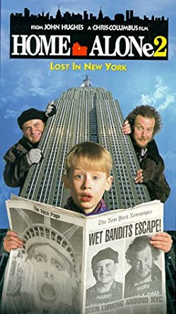 Home Alone 2: Lost in New York (VHS/DVD)