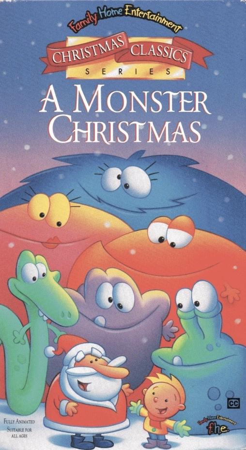 A Monster Christmas (1996-1998 VHS)