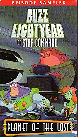 Buzz Lightyear of Star Command: Planet of the Lost (2003 VHS)