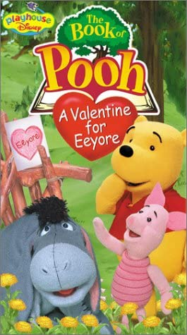 The Book of Pooh: A Valentine for Eeyore (2002 VHS)