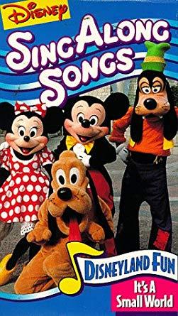 Disney's Sing-Along Songs: Disneyland Fun (1990-1994 VHS)