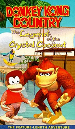 Donkey Kong Country: Legend of the Crystal Coconut (1999 VHS)