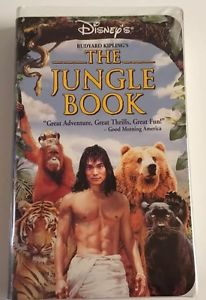 The Jungle Book (1995 VHS)