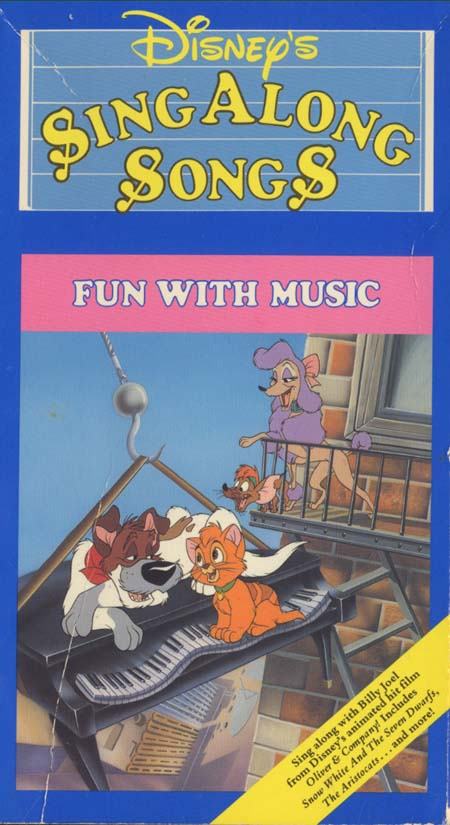 Disney's Sing-Along Songs: Fun with Music (1989-1991 VHS)