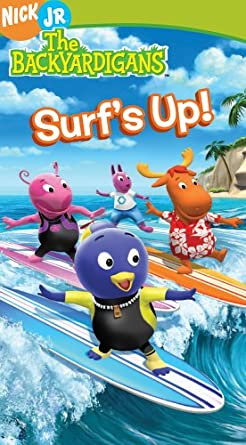 The Backyardigans: Surf's Up! (2006 VHS)