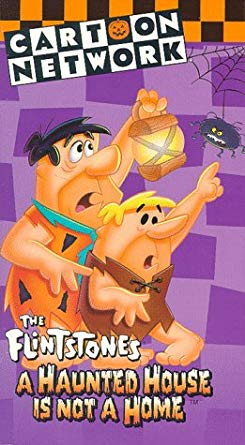 The Flintstones: A Haunted House is Not a Home (1990-2001 VHS)