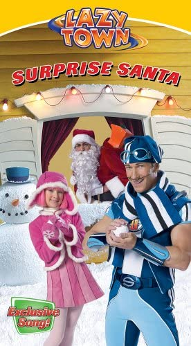 LazyTown: Surprise Santa (2005 VHS)