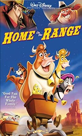 Home on the Range (2004 DVD/VHS)