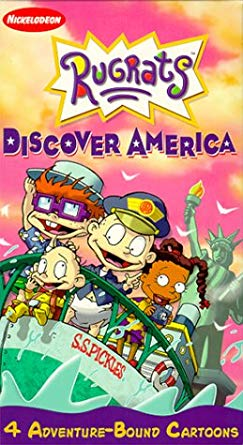 Rugrats: Discover America (2000 VHS)
