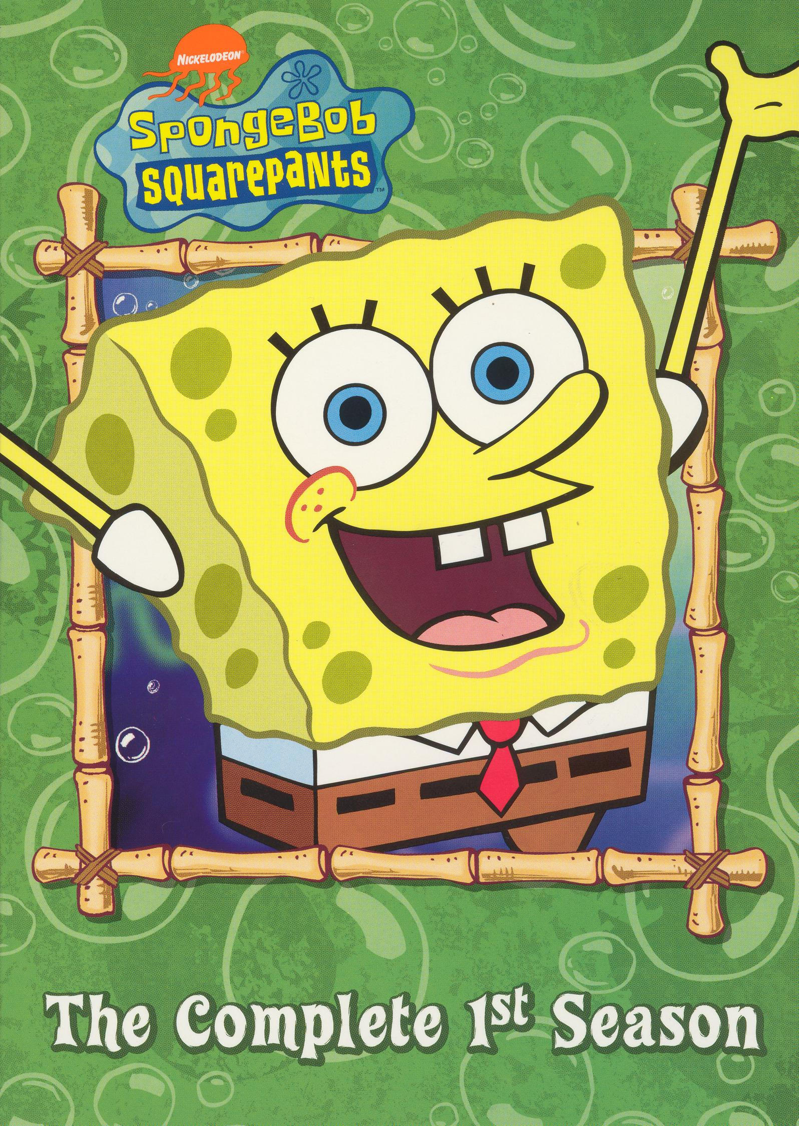 SpongeBob SquarePants: The Complete 1st Season (2003 DVD)