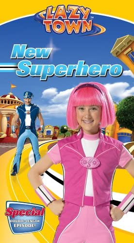 LazyTown: New Superhero (2005 VHS)
