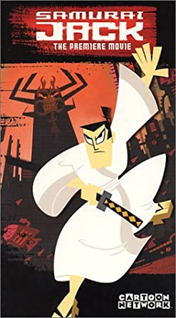 Samurai Jack: The Premiere Movie (2002 VHS)