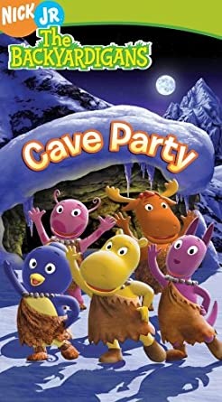 The Backyardigans: Cave Party (2006 VHS)