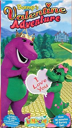 Barney: Barney's Valentine Adventure (2001 VHS)