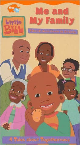 Little Bill: Me and My Family (2001 VHS)