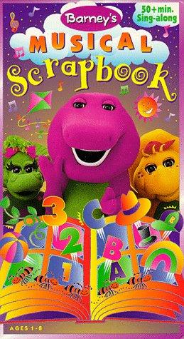 Barney: Barney's Musical Scrapbook (1997-2004 VHS)