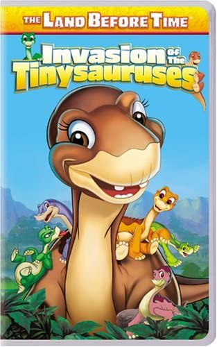 The Land Before Time: Invasion of the Tinysauruses (2005 VHS)