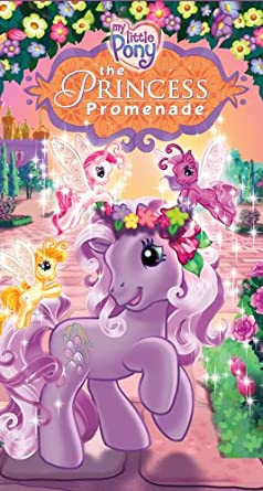 My Little Pony: The Princess Promenade (2006 VHS)