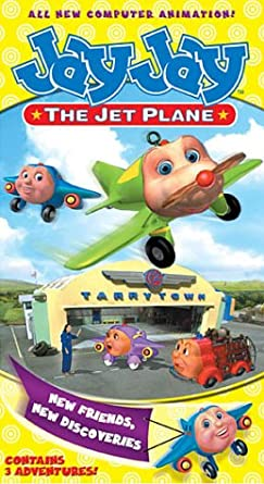 Jay Jay the Jet Plane: New Friends, New Discoveries (2002 VHS)