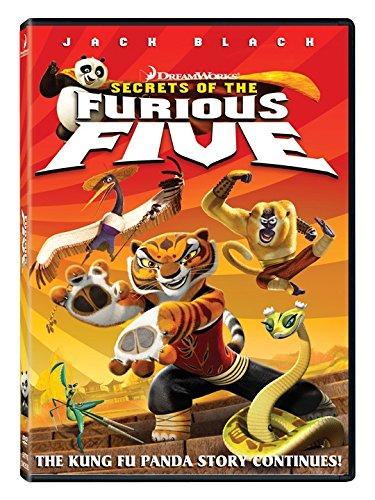 Kung Fu Panda: Secrets of the Furious Five (2008 DVD)