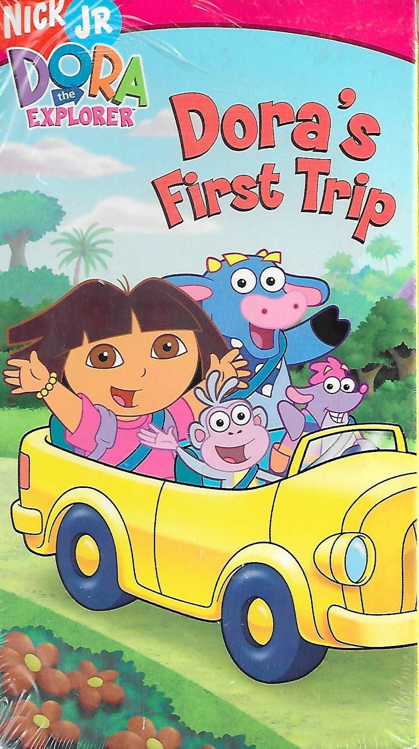 Dora the Explorer: Dora's First Trip (2006 VHS)
