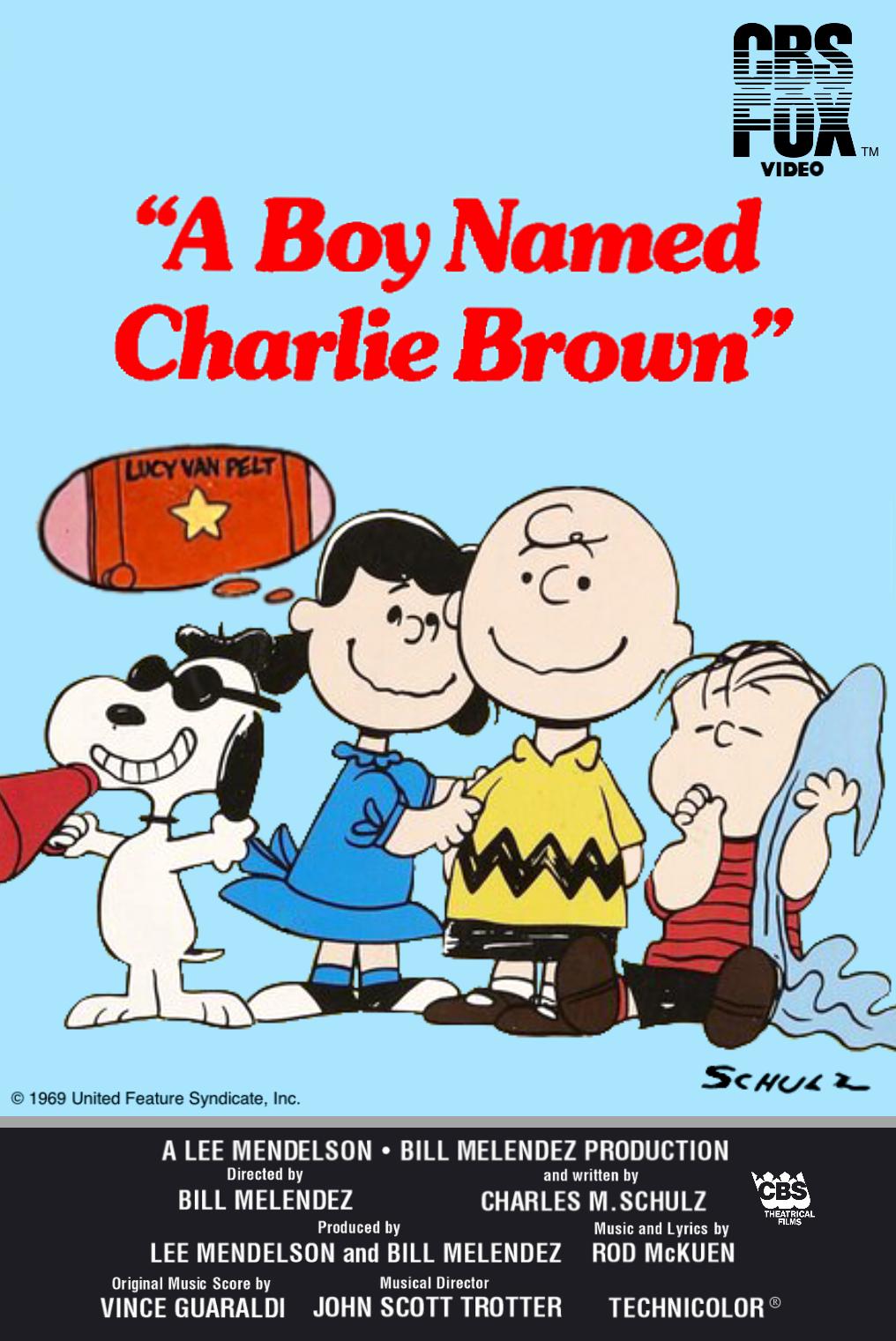A Boy Named Charlie Brown (1983-1992 VHS)