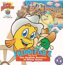 Freddi Fish 4; The Case of the Hogfish Rustlers of Briny Gulch (1999 PC Game)