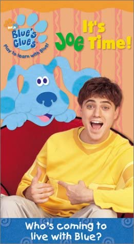 Blue's Clues: It's Joe Time! (2002 VHS)