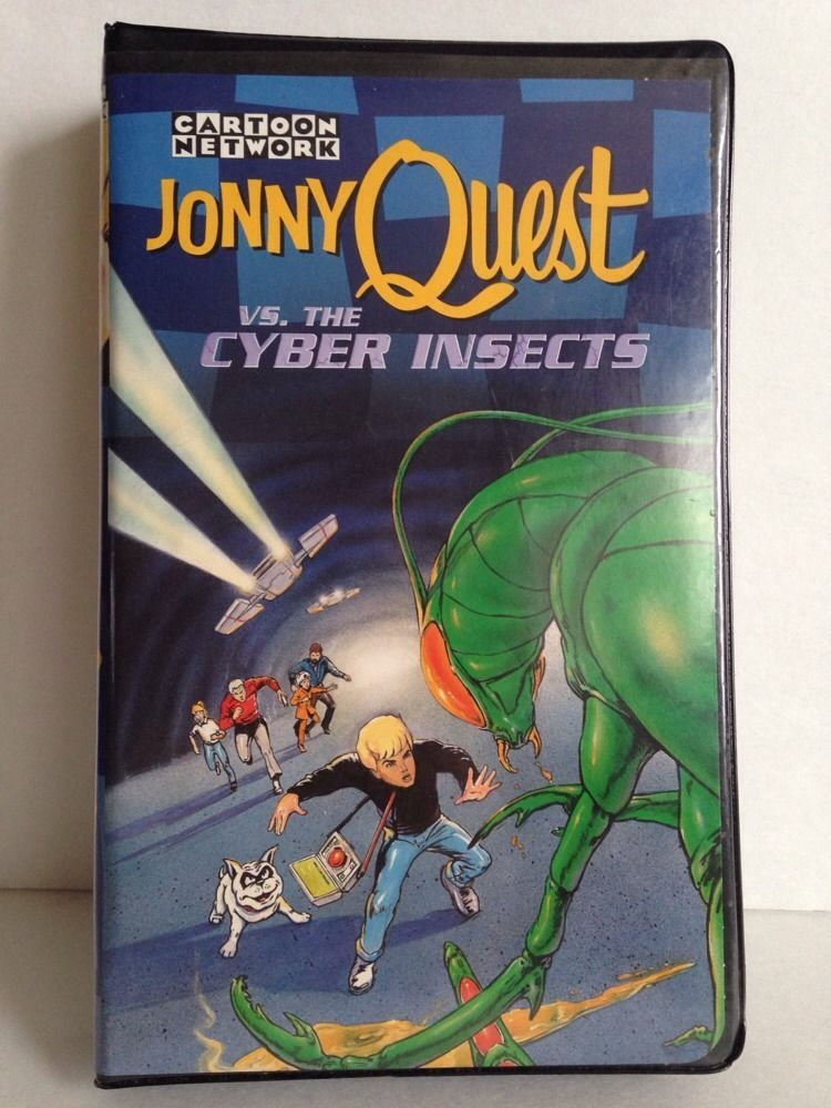 Jonny Quest vs. The Cyber Insects (1996 VHS)